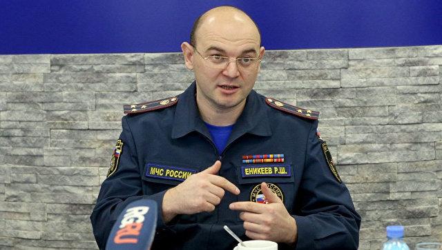 Главный государственный инспектор по пожарному надзору МЧС Ринат Еникеев. Архивное фото