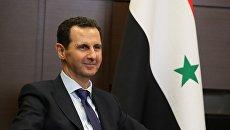 Башар Асад. Архивное фото