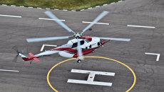 Летные испытания второго опытного образца вертолета Ми-171А2. Архивное фото