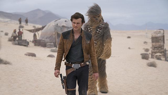 Кадр из фильма Хан Соло: Звездные войны. Истории