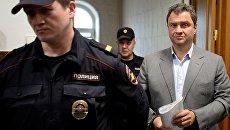 Григорий Пирумов в Басманном суде Москвы. 18 мая 2018
