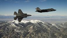 Американские истребители пятого поколения F-35. Архивное фото
