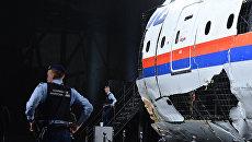 Представление доклада об обстоятельствах крушения лайнера Boeing 777 Malaysia Airlines (рейс MH17) в Нидерландах. Архивное фото
