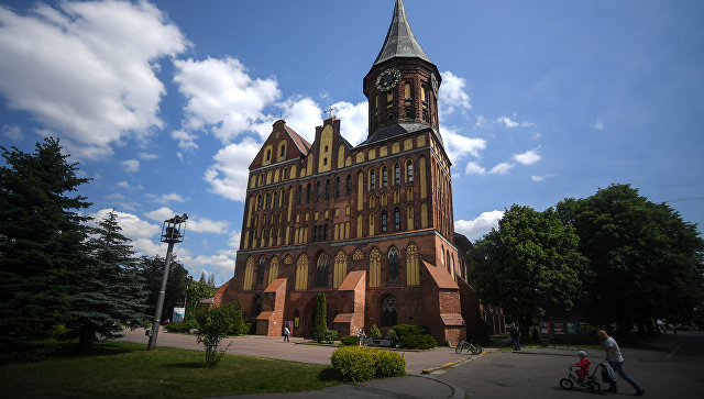 Кафедральный собор Калининграда. Архивное фото