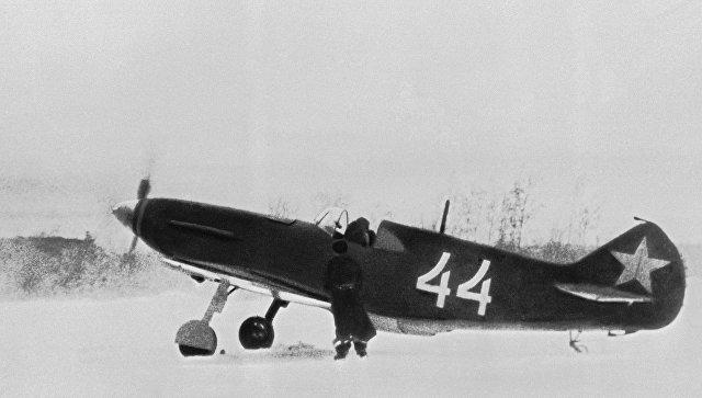 Самолет-истребитель ЛаГГ -3. Архивное фото