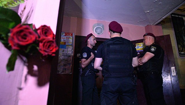 На месте убийства Аркадия Бабченко. Архивное фото