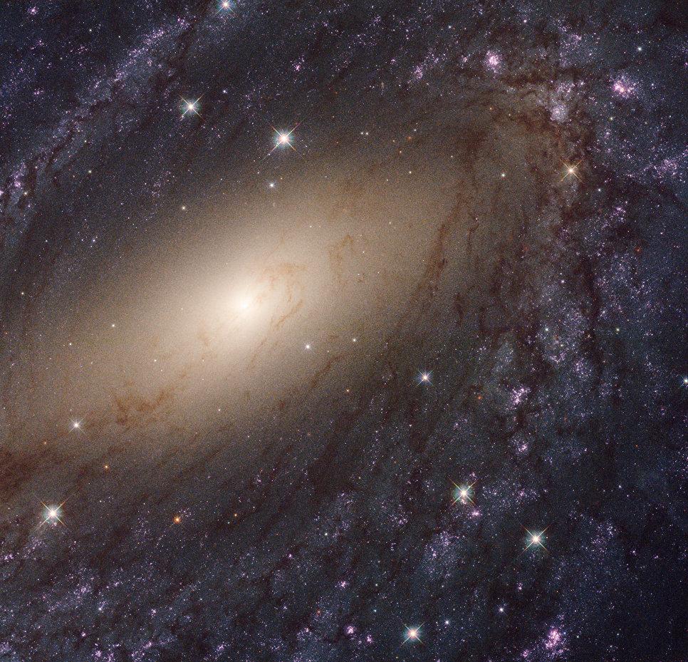 Галактика NGC 6744 в созвездии Павлин