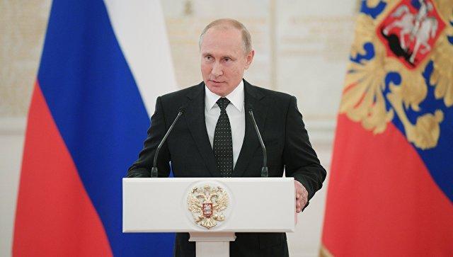 Путин продемонстрировал наследному принцу Абу-Даби лимузин «Кортеж»
