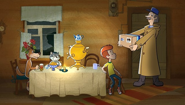Кадр из мультфильма Возвращение в Простоквашино (2018)