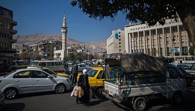 Улица в Дамаске. Архивное фото
