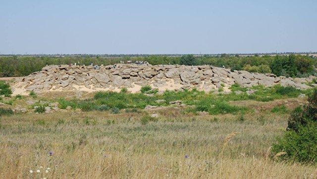 Массив Каменная могила, Мелитопольский район, Украина