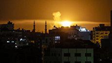 Авиаудары ВВС Израиля по сектору Газа. Архивное фото