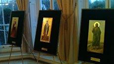 Выставка икон. Архивное фото