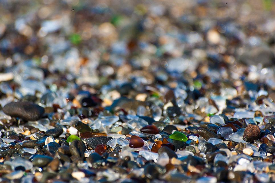 Стеклянный пляж, Калифорния