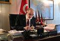Кандидат в президенты Турции от Партии счастья Темель Карамоллаоглу