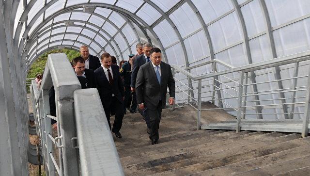 Руденя: тоннель в Чуприяновке Тверской области обеспечит развитие региона
