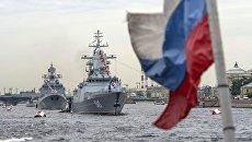 Сторожевой корабль Адмирал Макаров и корвет Стойкий. Архивное фото