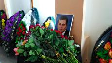 Похороны Дмитрия Хахалева, который был у штурвала катамарана, столкнувшегося с баржей на Волге