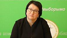 Председатель Московской областной избирательной комиссии Эльмира Хаймурзина