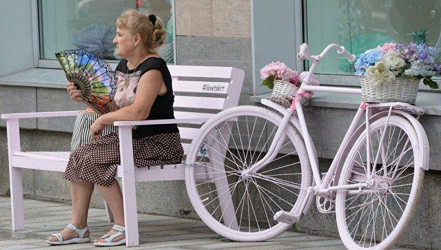 На Тверской улице в Москве. Архивное фото