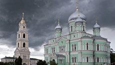 Свято-Троицкий Серафимо-Дивеевский женский монастырь в Нижегородской области. Архивное фото
