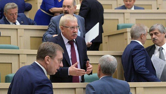 Член комитета Совета Федерации РФ по международным делам Олег Морозов. Архивное фото