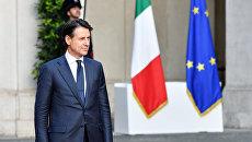 Премьер-министр Италии Джузеппе Конте. Архивное фото