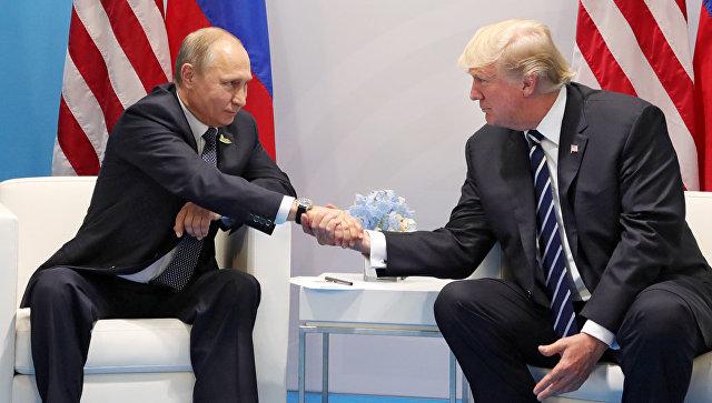 Кремль назвал место и дату встречи Путина и Трампа