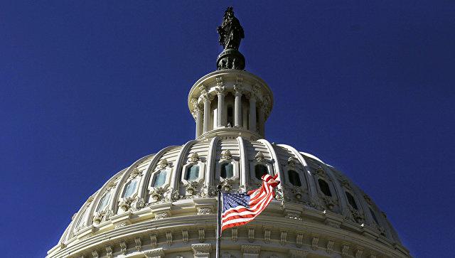 Здание Капитолия США . Архивное фото
