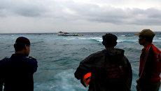 Крушении парома с пассажирами на борту у берегов индонезийской провинции Южный Сулавеси. 3 июля 2018 года