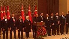 Эрдоган объявил состав нового правительства Турции