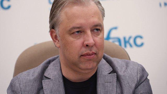 Кандидат в мэры Москвы от КПРФ Вадим Кумин во время пресс-конференции. 11 июля 2018