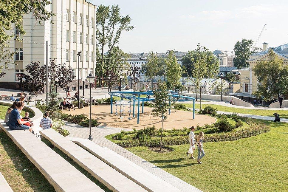 Один из проектов Ольги Макаренко – парк Горка