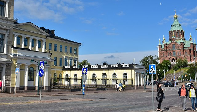 Президентский дворец в Хельсинки, Финляндия