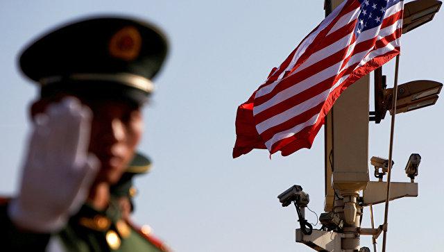 Китайский полицейский в Пекине
