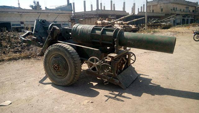 Военная техника, сданная вооруженными группами в Дераа