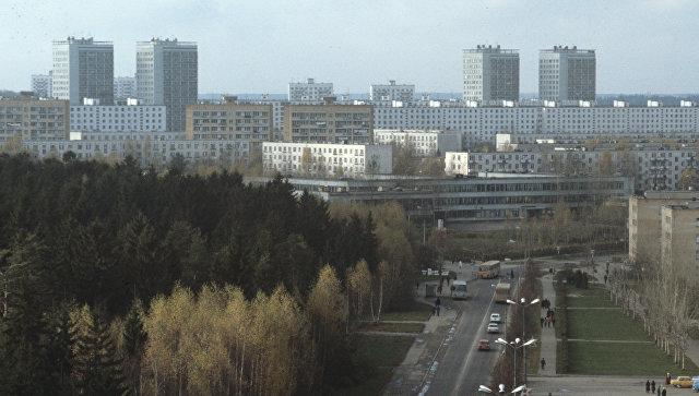 Зеленоград - один из районов Москвы
