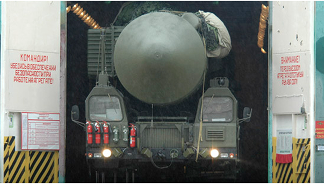 МБР тяжёлого класса Сармат. Архивное фото