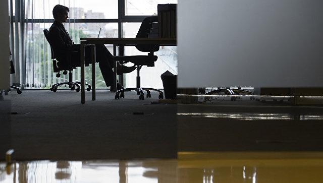 Офисный работник. Архивное фото