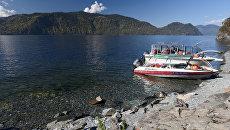 Для снижения вреда на Телецком озере построят набережные и пирсы