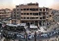 Работа фотографа Mohammed Badra из Сирии Iftar Amongst the Ruins, занявшая первое место в категории Новости и события в фотоконкурсе 2018 iPhone Photography Awards
