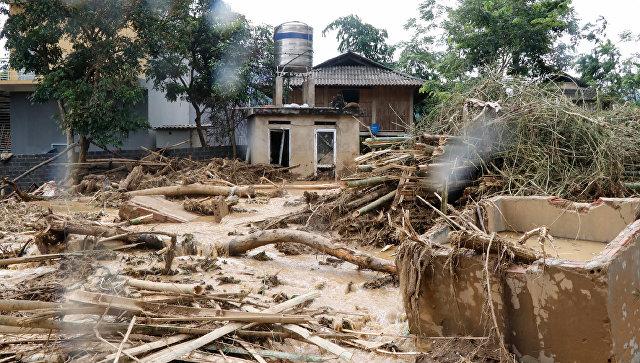 Последствия наводнения. Архивное фото