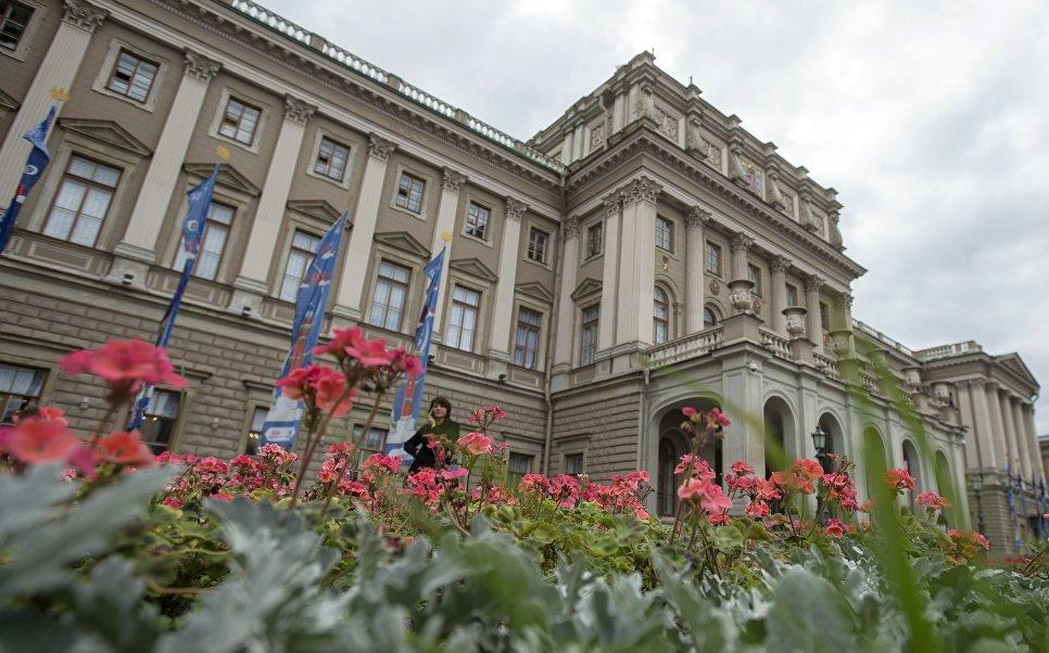 Мариинский дворец в Санкт-Петербурге.