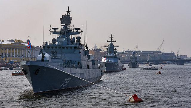 Сторожевой фрегат Адмирал Эссен. Архивное фото