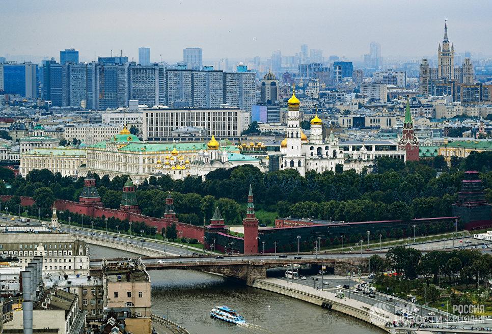 Вид центра Москвы