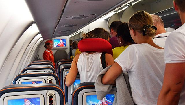 Летевший в Петропавловск-Камчатский самолет столкнулся с птицей