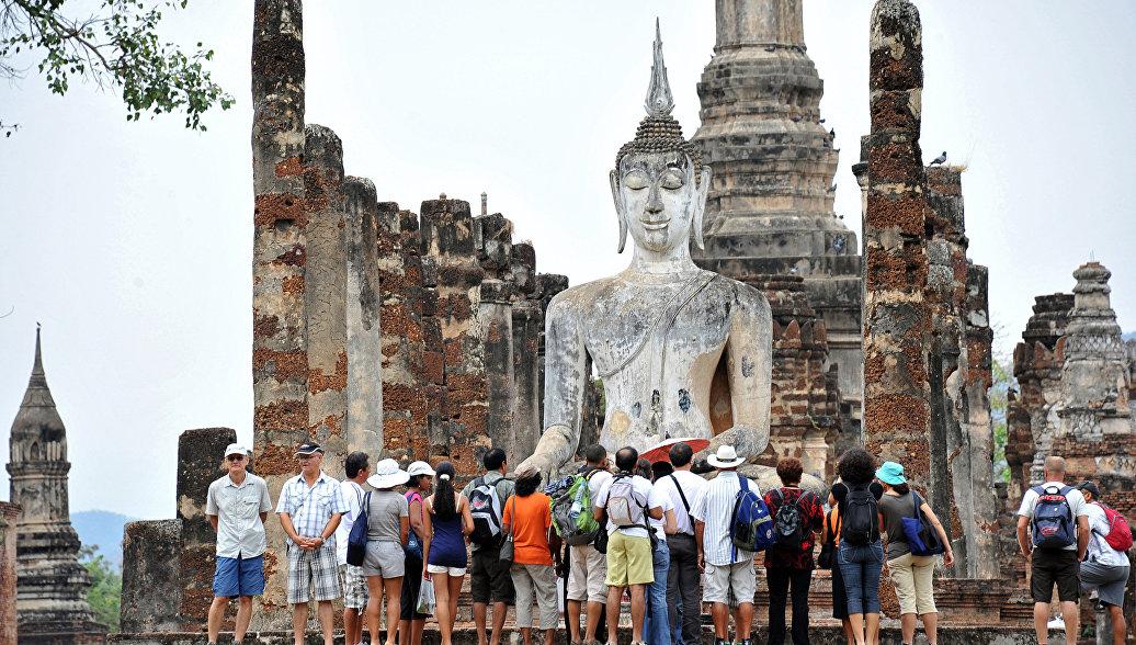 Исторический парк Сукхотай в Таиланде