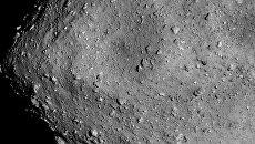 Фотография поверхности астероида Рюгю с расстояния в 6 километров