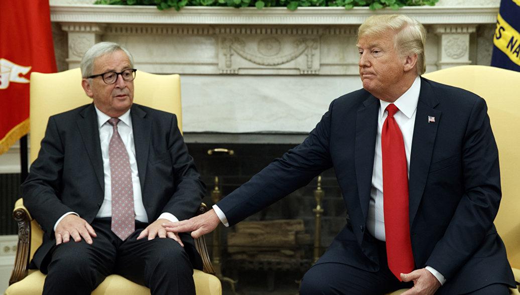 Цена любви: кто выиграл в сделке Трампа с Евросоюзом