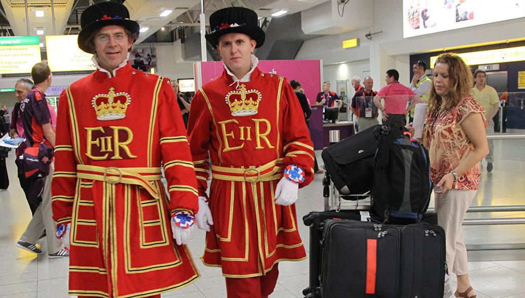В аэропорту Heathrow в Лондоне